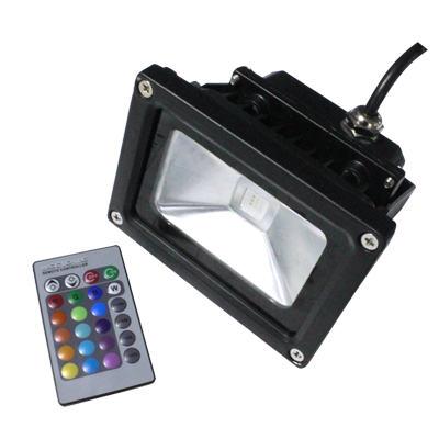 led rgb outdoor light,rbg led floodlight,RGB 10w flood light,rgb led floodlight bulbs